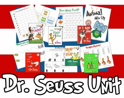 Dr Seuss Printables - A Teaching Mommy